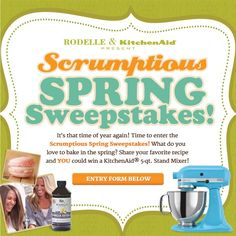 Rodelle Vanilla Spring Sweepstakes