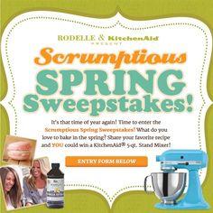 Rodelle Vanilla Spring Sweepstakes