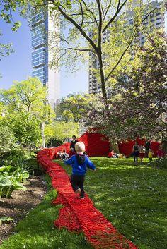 Madison Square Park - April 2013 Orly Genger