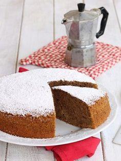 TORTA ULTRA SOFFICE AL CAFFE' ricetta torta al caffè senza burro