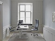 Russel Reynolds – kontormiljø – skrivebord –overflade – Desktop  – Furniture Linoleum – Forbo – interior design