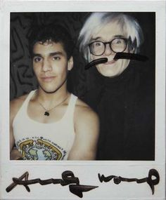 Andy Warhol & Keith Haring, Untitled, 1987