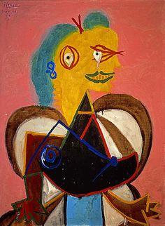 "Pablo Picasso, ""Lee Miller"", 1937."