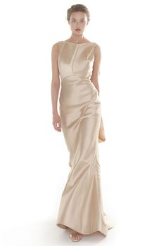 Brides: Peter Langner Evening - 2013 | Bridal Runway Shows | Wedding Dresses and Style | Brides.com