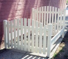 7 Best Picket Fence Headboard Images On Pinterest
