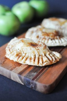 Paleo Fried Apple Pies | Fed+Fit