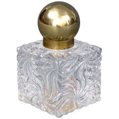 1STDIBS.COM - Susan Silver Antiques - Baccarat - Large Baccarat Inkwell