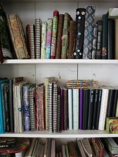 Patty Van Dorin: unpacking journals and sketchbooks ~ starting to feel like home.