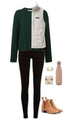 """""""Ever have those days where you're just really happy"""" by madelinepberndt ❤ liked on Polyvore featuring River Island, Ryan Roche, Patagonia, Chloé, Stila and S'well"""