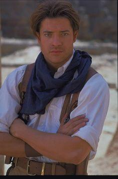Brendan Fraser The Mummy, Mummy Movie, Egypt Travel, Rachel Weisz, Raining Men, Movie Characters, Attractive Men, Illustrations, Actors & Actresses