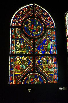Cluny Musée du Moyen Age / The Middles Ages Museum at Cluny  http://www.musee-moyenage.fr/index.html  #stained_glass #tapestries #unicorn #stone_carving