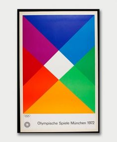 Max Bill (1908-1994) – Affiche pour les Jeux Olympiques de Munich (1972)