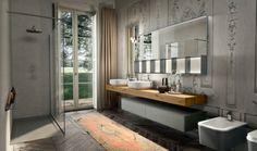 Salle de bain design italien minimaliste et épuré