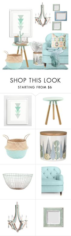 """""""Untitled #336"""" by k-tomlin ❤ liked on Polyvore featuring interior, interiors, interior design, home, home decor, interior decorating, WALL, Olli Ella, Heal's and House Doctor"""