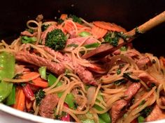 Need a new way to cook your pork? Try this delicious, healthy, easy, and fast 30 minute stir fried Ginger Pork Noodle to bring your family together.