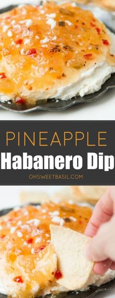 One of the easiest appetizers you could ever make and it's so good! Pineapple habanero dip! #footballfood #dip #habanero #pineapple #spicy Zucchini Benefits, Easiest Appetizers, Best Swimwear, Lemon Meringue Pie, Football Food, Paula Deen, Dips, Pineapple, Spicy