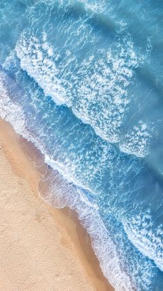 Wave on the beach as a background. Beautiful natural background at the summer time. Aerial seascape from drone at the summer time Beach Phone Wallpaper, Phone Screen Wallpaper, Summer Wallpaper, Nature Wallpaper, Waves On The Beach, Ocean Waves, Ocean Photography, Aerial Photography, The Ocean