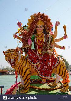 Stock Photo - Sculpture of Hindu Goddess Durga Kali Hindu, Durga Maa, Good Morning Clips, Vaishno Devi, Ganesh Wallpaper, Photo Sculpture, Durga Images, Kali Goddess, Vectors