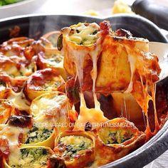 Baked Spinach & Ricotta Rotolo
