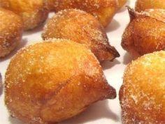 Receta de buñuelos de viento, típico de la festividad de Todos los Santos - Deliciosas recetas de cocina con foto: arroz, legumbres, carnes, postres...