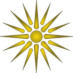 The star of Vergina is a historic Pan-Hellenic symbol which was used by all Greeks including the Macedonian royal dynasty of Philip II and Alexander the Great. Ancient Greek Art, Ancient Greece, Alexandre Le Grand, Macedonia Greece, Greek History, Early Middle Ages, Fantasy Paintings, Alexander The Great, Pictures To Paint
