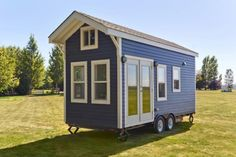 The Amalfi Edition tiny house, from Tiny Living Homes. A 170 sq ft tiny house on wheels, made in Delta, British Columbia. Tiny House Company, Tiny House Swoon, Tiny House Listings, Tiny House Plans, Tiny House Design, Tiny House On Wheels, Tiny House Movement, Tiny Houses For Sale, Little Houses
