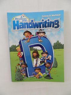 A Reason For Handwriting: Cursive D Student Workbook GR 4 Homeschool / School LN #WorkbookStudyGuide