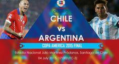 Final Copa America 2015, Prediksi Chile Vs Argentina