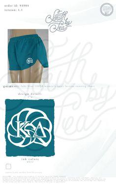 Kappa Delta | KD | Kappa Delta Shorts | Kappa Delta Running Shorts | Teal Shorts | Teal Kappa Delta Shorts | South by Sea | Sorority Shirts | Sorority Tanks | Greek Shirts