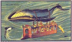 From a submarine dragged by a WHALE to a hyperloop under New York in 1870: The historic ideas for the future of commuting [Futuristic Vehicles: http://futuristicnews.com/category/future-transportation/]