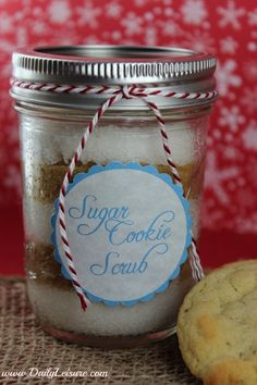 How to Make Sugar Cookie Scrub