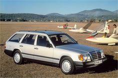 Für viele der schönste Mercedes-Kombi aller Zeiten: Das 1985 vorgestellte T-Modell des W 124