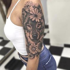 28 Of The Best Siberian Husky Tattoo Ideas for Men and Women Neue Tattoos, Dog Tattoos, Body Art Tattoos, Girl Tattoos, Tattoo Skin, Skull Tattoos, Tattoo Art, Wolf Tattoo Sleeve, Best Sleeve Tattoos