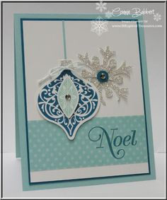 InkspiredTreasures.com » Blog Archive » SUOC61 – Ornament Keepsakes