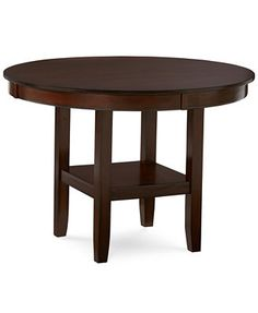 Branton Round Dining Table  My dining table from Macy's