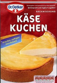 German Cheesecake mix shipped directly from Germany.