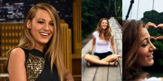 "Blake Lively ditched her blond locks for a nice ""bronde"" color, a term coined by the actress herself (in her own words: ""#NoTypos-IKnowIThinkItsCrazyToo"").   - ELLE.com"