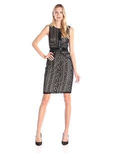 Sangria Women's Sleeveless Lace Sheath Dress *** Find out more about the great product at the image link. (This is an affiliate link and I receive a commission for the sales)