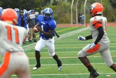 FAST START - Zaire Weaver and the Passaic County Tech football team are off to a 2-0 start after defeating Passaic last weekend in Wayne.