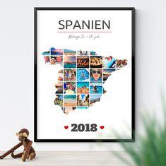 Lav en personlig plakat med alle dine favorit billeder fra ferien. Malaga, Polaroid Film, Pictures, Sevilla Spain