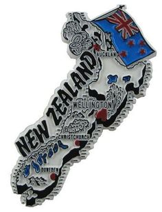 MGI Companies, Inc. - New Zealand - International Country Shaped Map Magnets, $2.89 (http://www.internationalgiftitems.com/new-zeland-magnetic-map)