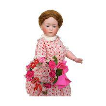 Beaded Mesh Gold Tone Draped Bib Necklace with Bead Fringe: Removed Victorian Dollhouse, Modern Dollhouse, Ruby Lane, Antique Dolls, Vintage Dolls, Tortoise Shell Hair, Baby Dolls, Reborn Dolls, Reborn Babies