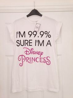 The Sparkling Magpie Primark, statement t shirt, disney princess