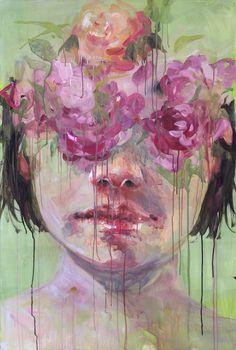 Silvia Pelissero a.k.a. Agnes Cecile #art #painting