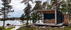 Бани и гостиные Tiny Cabins, Tiny Living, Bungalow, My House, Architecture, House Styles, Garden, Outdoor Decor, Plants