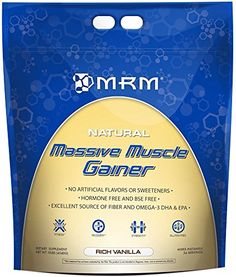 Massive Muscle Gainer Weight Gainer Vanilla MRM Metabolic Response Modifiers 10 lbs Powder * Click image to review more details. (This is an affiliate link)