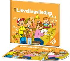 Babyshop@Home - CD Boek Lievelingsliedjes Kinderliedjes