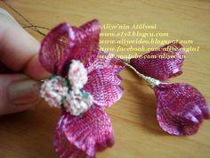 TİTANYUM NAKIŞI ÖĞRENİYORUM - e1y3 Making Tools, Handmade Flowers, Flower Making, Crochet Earrings, Floral, Jewelry, Jewlery, Jewerly, Flowers