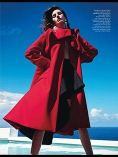 Vogue Paris Outubro 2013   Saskia de Brauw e Amanda Murphy por Mario Sorrenti  [Editorial]