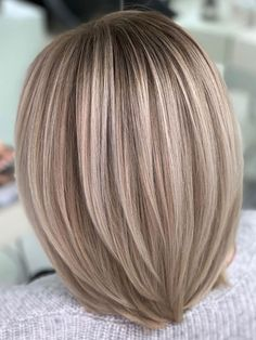 Ash Blonde Hair, Wavy Hair, Thin Hair, New Hair Colors, Cool Hair Color, Medium Hair Styles, Short Hair Styles, Latest Hair Color, Mi Long